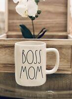 Rae Dunn LL Boss Mom Mug