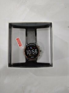 Fossil FTW6061 Gen 5 Carlyle Stainless Steel Touchscreen Smartwatch, Rose Gold