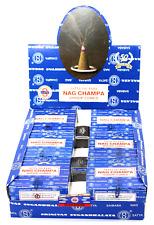Shrinivas Sugandhalaya Satya Sai Baba Nag Champa Incense Dhoop Cones, 144 Cones