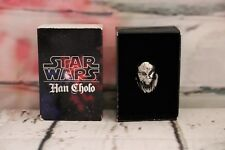 Authentic Disney Star Wars Han Cholo Chewbacca Ring New In Box Size 9