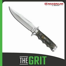 "Boker Bom207 02MB207 Knives Fixed Knife Magnum Safari Mate 11"" Overall 6"" 440 St"