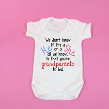 Birth announcement idea You're grandparents Baby announcement Pregnancy gift