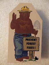 Cat's Meow Village Accessory - Smokey Bear - 50 year anniversary, 1944-1994