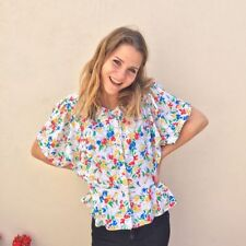 Grunge Polyester Everyday Vintage Tops & Shirts for Women