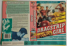 DRIVE-IN Video VHS Cassette Tape Sleeve Cover Slick DRAGSTRIP GIRL Australian