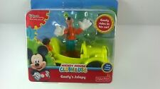 Goofy's Jalopy Mickey Mouse Clubhouse Disney Junior Real Rolling Wheels New