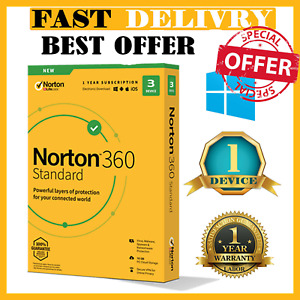 🔰 Norton 360 Deluxe 2021 Antivirus✅ 1 Devices ✅ 1 Years 🔰 Woldwide ✅