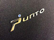 Fiat Punto Badge BLUE Head For Grande Or Evo Brand Genuine Fiat