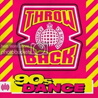 (MoS) Throwback 90s Dance - Ministry Of Sound [CD]