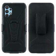 For Samsung Galaxy A32 4G/Galaxy A32 5G Cover Heavy Duty Case With Belt Clip