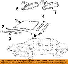 Chevrolet GM OEM Beretta Windshield-Reveal Surround Molding Trim Left 22639063