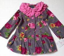 Mack & Co Dress Coat New Button Front Bubble Bottom Size 4T Girls~Lightweight