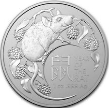 "2020 Australia 1 oz Silver Lunar Year of the Rat ""BLACK FRIDAY SALES"" SEE STORE!"