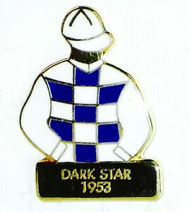 1953 - DARK STAR - Kentucky Derby Jockey Silks Pin