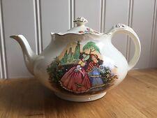 Stunning Vintage Crown Ducal Teapot Crinoline Ladies