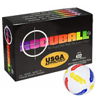Accuball USGA Approved Putting Alignment Golf Balls Training Aid 6 Count Box NEW