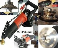 "Wet Polisher 1 1/2"" Diamond Full & Ogee Bullnose Router Bit Profiler Granite top"