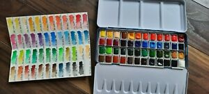 48 Half-pan Phoenix Watercolour Set, Student Grade UK only