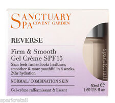 Sanctuary Spa Reverse FIRM & SMOOTH Gel Creme SPF15 Normal/Combination 50ml