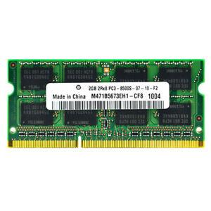 NEW LAPTOP MEMORY RAM DDR3 1066 MHZ 4GB(2x2GB) 2GB PC3-8500S SODIMM 204PIN 1.5V