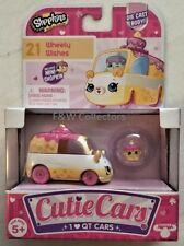 SHOPKINS CUTIE CARS #21 WHEELY WISHES DIE CAST BODY SERIES 1 NEW