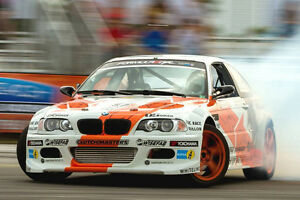 BMW E46 GTR RACE Wide Body Kit 2DR '01-'06 FRP