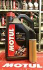 Kit Tagliando 4l Motul 7100 10W60 + Filtro Olio 158 KTM Adventure 990 cc