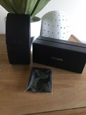 Authentic Prada Sunglass Case, Box And Cleaning Cloth