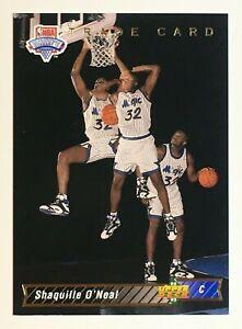 1992-93 UPPER DECK - #1b - SHAQUILLE O'NEAL ROOKIE CARD - TRADE CARD - NBA