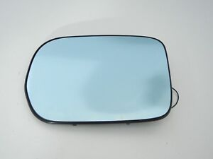Acura MDX 2002 left driver side heated mirror glass blue 01 2003 2004 2005 2006