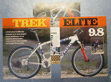 BICMON999-RITAGLIO/CLIPPING/NEWS-1999- TREK ELITE 9.8 - 3 fogli