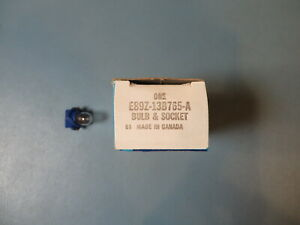 Ford Bulb & Socket E89Z-13B765-A.