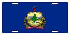 VERMONT STATE Flag Custom License Plate AMERICAN Emblem ORIGINAL Version