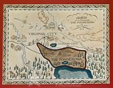 BONANZA photo 078 The Ponderosa map
