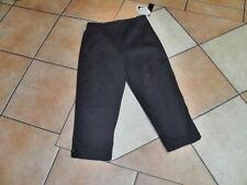 3/4 Length Cotton Blend Regular Size Pants for Women