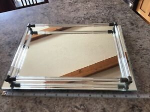 Glass Vanity Tray/ Perfume Tray