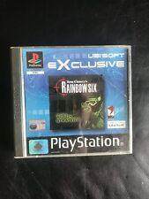 Rainbow Six - Sony PlayStation 1 - PS1 - Pal.