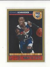 2013-14 Hoops Gold #277 Dennis Schroeder RC Rookie Hawks Thunder