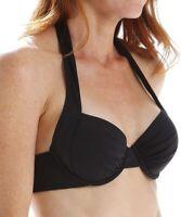 Tommy Bahama 171816 Pearl Solids Halter Underwire Women's Swimwear Size 36 DD