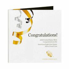 2019 W Congratulations Set - American Silver Eagle Proof Coin