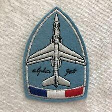 Patch écusson tissu Armée de l'Air  Alpha Jet Patrouille de France