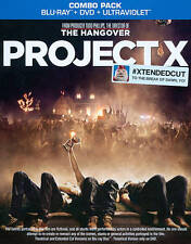 Project X (Blu-ray Disc 2-Disc Set, + Digital Copy UltraViolet) Extended