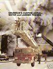 Fire Equipment Brochure - Grumman - Custom Aerial Water Ladder Towers  (DB100)