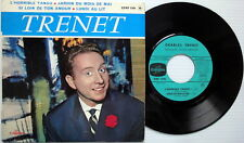 CHARLES TRENET 45 ep W/ PIC SLV! polydor FRANCE press