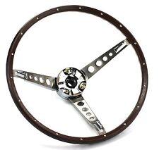Mustang Steering Wheel Deluxe Woodgrain 1967 - KSI
