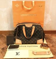 LOUIS VUITTON LV ESTRELA MM MONOGRAM CANVAS HANDBAG SATCHEL - FREE SHIPPING