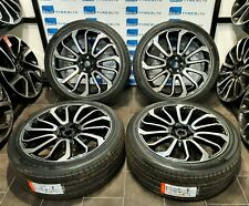 FITS LAND ROVER & RANGE ROVER SPORT 22'' INCH NEW ALLOY WHEELS & NEW TYRES FOUR