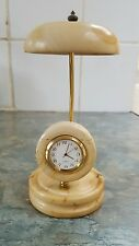 Handmade onyx marble decorative clock quartz new