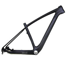 "29er 19"" Carbon MTB Frame 142mm Thru Axle BSA UD Matt Mountain Bike Clamp LIGHT"