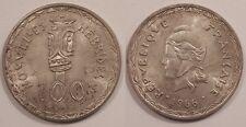 Nouvelles Hébrides, 100 Francs Argent 1966, SPL !!